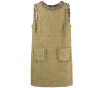 Ärmelloses Tweed-Kleid