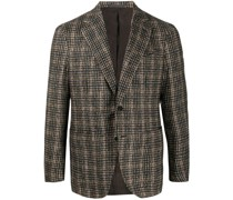 check single-breasted blazer