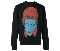 Sweatshirt mit David-Bowie-Print - men