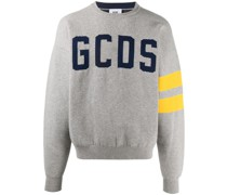 logo crew-neck jumper