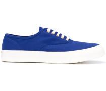 Canvas-Sneakers mit Kontrastsohle