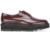platform lace-up shoes