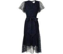 Estella lace-panelled dress