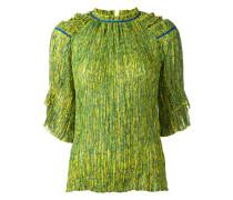 Bluse mit rundem Ausschnitt - women - Polyester
