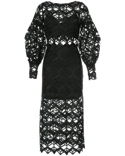 Rising Sign longsleeved dress