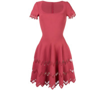 'Carre' Kleid mit Zickzackmuster