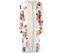 Mantel mit floralem Print