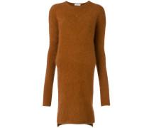 Asymmetrisches Pullover-Kleid