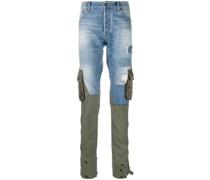 Jeanshose im Hybrid-Design
