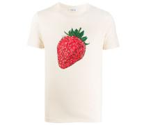 T-Shirt mit Erdbeer-Print