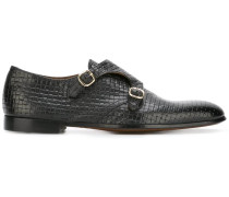 Monk-Schuhe mit Webmuster - men - Leder - 42