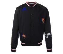beaded spider bomber jacket