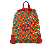 GG Wallpaper drawstring backpack