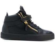 Kriss hi-top strap sneakers