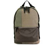 canvas patchwork backpack