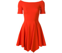 fitted scoop neck dress