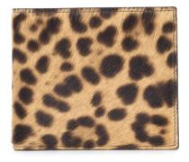 Portemonnaie mit Leopardenmuster