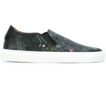 Sneakers mit Pavian-Print
