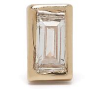 9kt Gelbgoldohrring mit Diamanten
