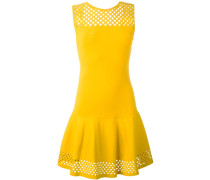 Kleid mit Netzstoffeinsatz