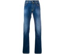 'J688' Jeans mit Einstecktuch
