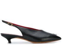 Slingback-Pumps mit Ring