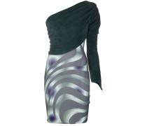 Kleid mit Kontrastträgern