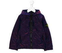 Regenjacke mit Logo-Patch - kids