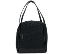 Handtasche mit geripptem Design