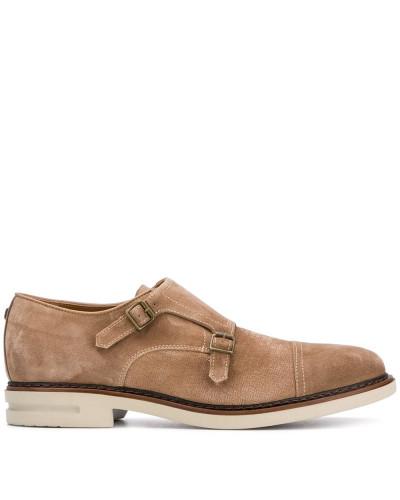 Monk-Schuhe mit doppeltem Riemen