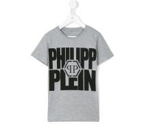 T-Shirt mit Print - kids - Baumwolle - 6 J.
