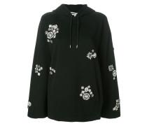 crystal-embellished hoodie