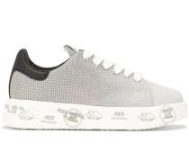 'Belle' Sneakers mit Kristallen