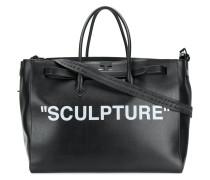 Sculpture luggage bag