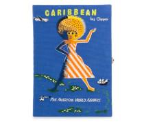 'Voyage Caribbean' Clutch