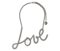 """Halskette mit großem """"Love""""-Anhänger"""