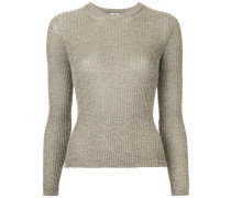 ribbed slim fit sweater