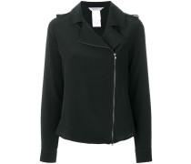 zipped blouse