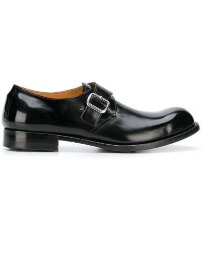 Monk-Schuhe mit runder Kappe