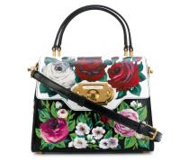 Welcome floral handbag