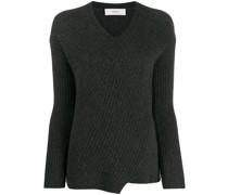 'Travelling' Pullover mit V-Ausschnitt