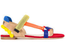 Sandalen in Colour-Block-Optik - women