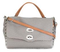 Handtasche mit Zickzackmuster