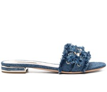 Jeans-Sandalen