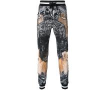 Jogginghose mit Print - men - Baumwolle - S