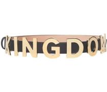 """Gürtel mit """"The Kingdom""""-Schriftzug"""