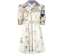 Mantel mit floralem Print - women - Lammleder