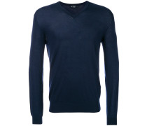 elbow patch jumper