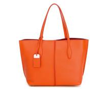 Handtasche mit Lederanhänger - women - Leder