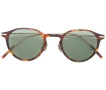 tortoiseshell-effect round sunglasses
